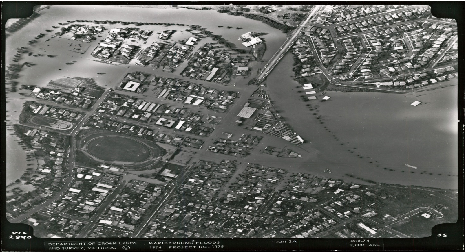 Maribyrnong River flood 74
