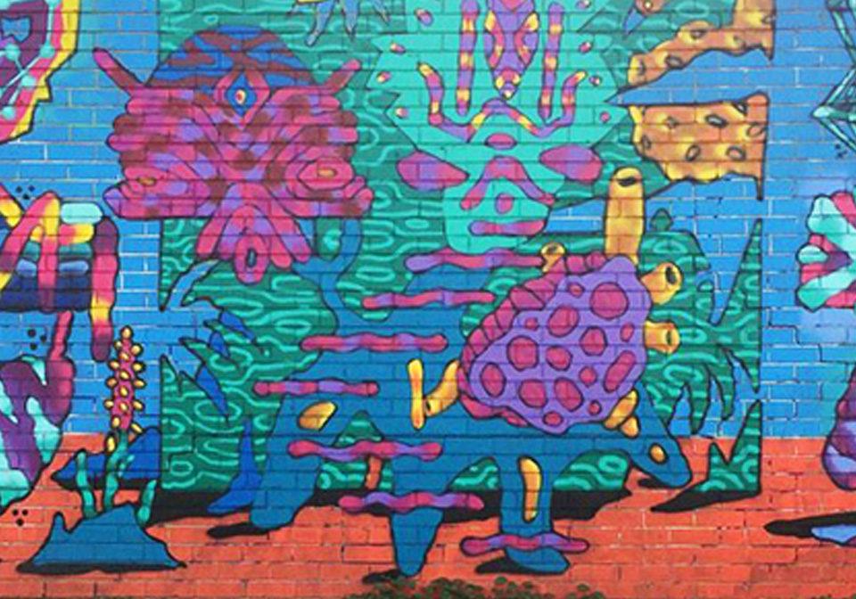 Strathmore Mural